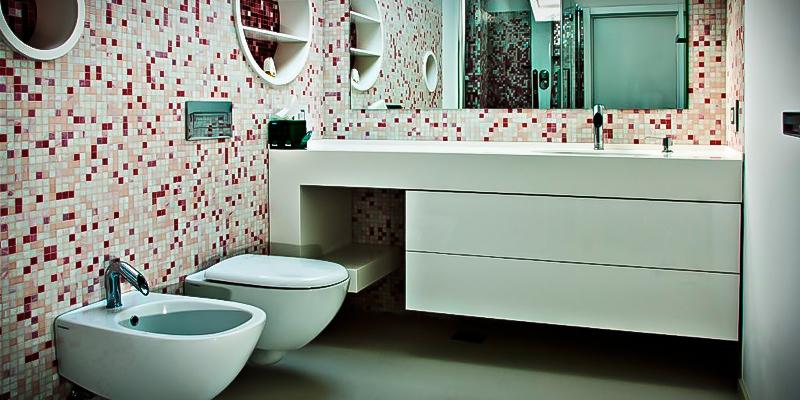 mobilier de baie la comanda mdf vopsit lucios