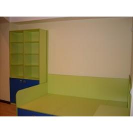mobilier la comanda camera tineret pal culori diverse dressing usi glisante noptiera inalta si corp biblioteca