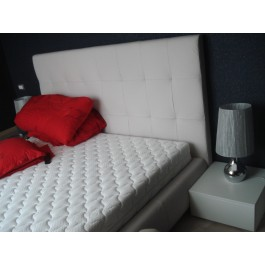 mobilier la comanda dormitor modern mdf infoliat alb mat corpuri cu sertare silentioase si deschidere prin apasare